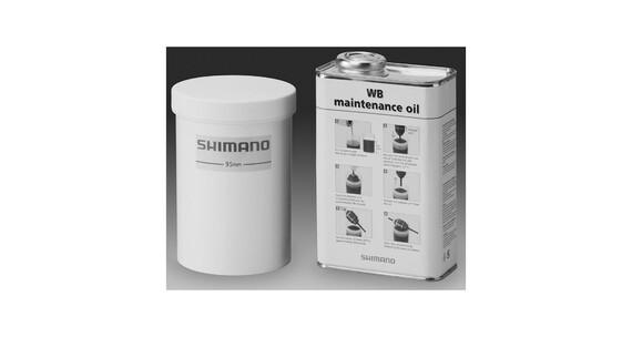Shimano Set manutenzione per cambio integrato bianco